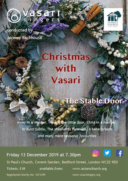 Christmas with Vasari: The Stable Door