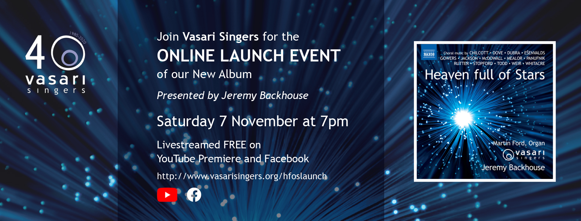 Heaven Full of Stars – Recording Launch Online Event